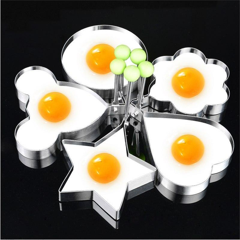 💥HOT SALE💥5pcs / set Stainless steel Egg Pancake Rings