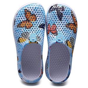 Butterfly Clogs Shoes Quick Drying Anti-Slip Beach Shoes