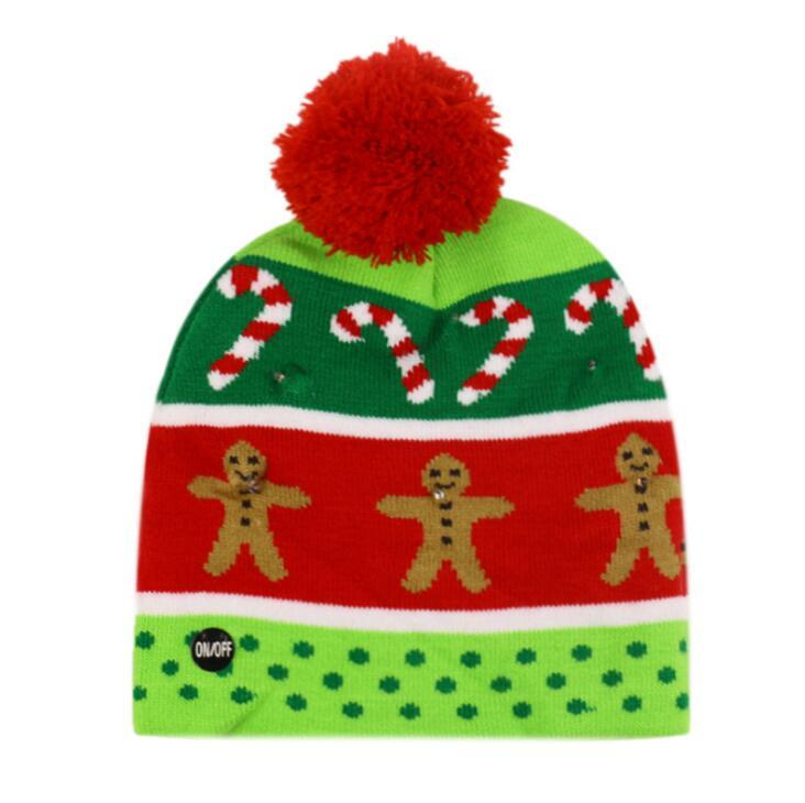 {45% Off Today!} Christmas LED Beanies