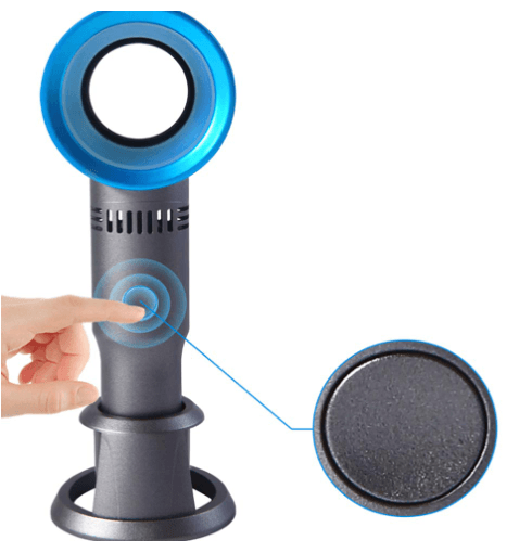 70% OFF TODAY ONLY!!</br>Bladeless Cooling Handheld Fan