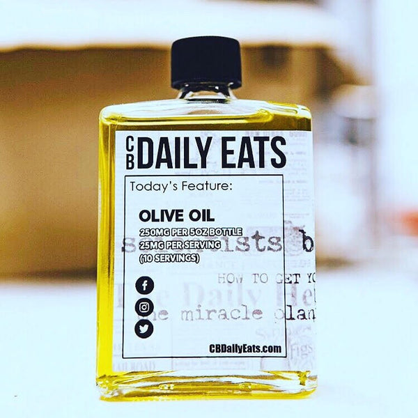 CBDailyEats Olive Oil