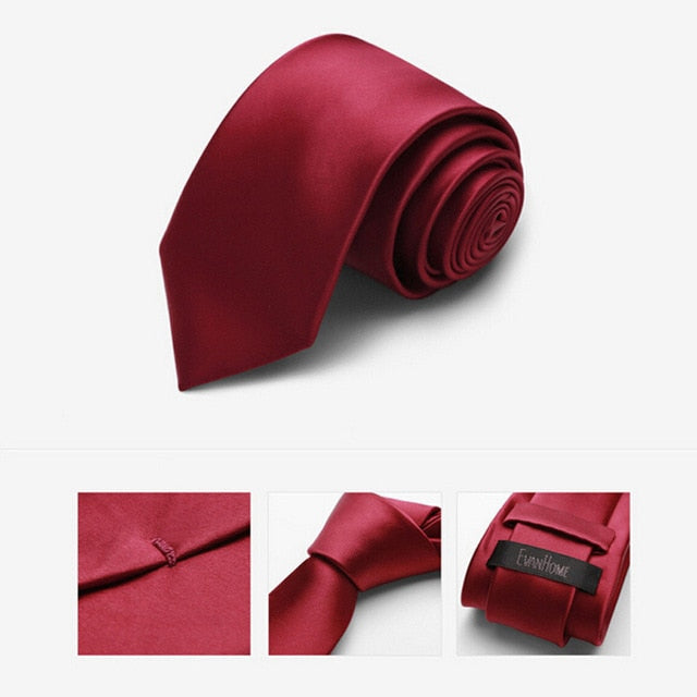 2016 New Arrivals Brand  Ties For Men Classic Faux Silk Tie Fashion Men Tie Solid Color Slim Ties With Gift Box Free Delivery