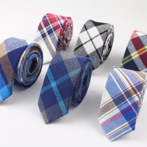 Plaid Men's Dress Ties