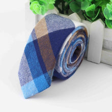Load image into Gallery viewer, Plaid Men's Dress Ties