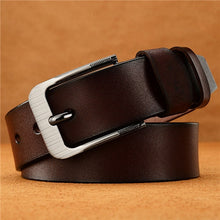 Load image into Gallery viewer, ChoihooNew Arrived Men Belt Cow Genuine Leather Luxury Strap Male Dress Belts For Men Fashion Classice Vintage MalePin Buckle286