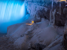 Load image into Gallery viewer, 'Frozen Niagara, pt. 1'