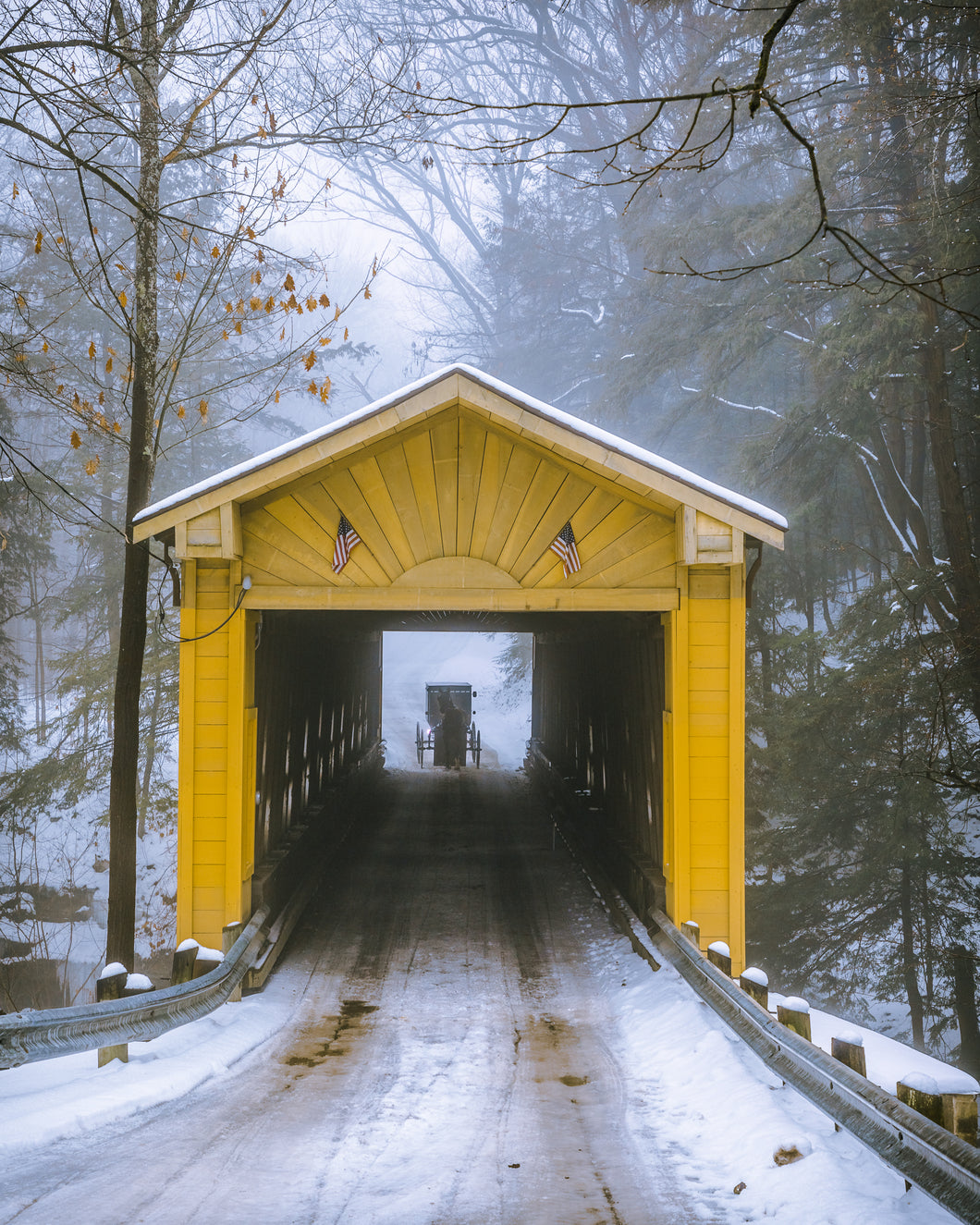 'Windsor Mills Covered Bridge'