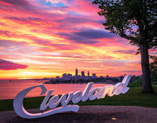 Load image into Gallery viewer, 'CLE Sunrise - landscape edition'