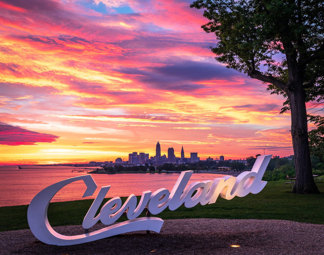 'CLE Sunrise - landscape edition'