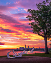 Load image into Gallery viewer, 'CLE Sunrise'