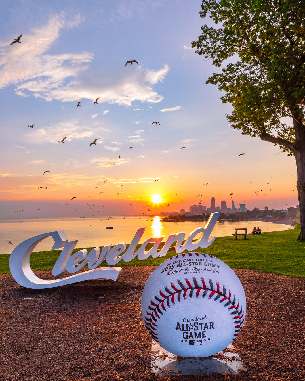 'Cleveland All-Star Game Sunrise'