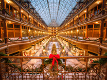Load image into Gallery viewer, 'Old Arcade at Christmas' (landscape)