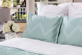 Cora Green Duvet Cover