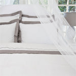 Linden Grey Duvet Cover
