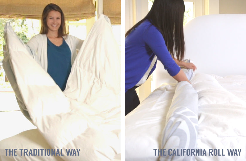 How To Put On A Duvet Cover Crane Canopy