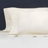 Cream 400 Thread Count Sheet Set 1 (Fitted, Flat, & Pillow Cases)