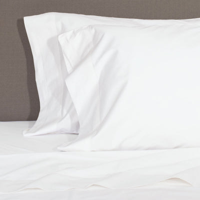 Soft White 400 Thread Count Sheet Set 2 (Fitted & Pillow Cases)