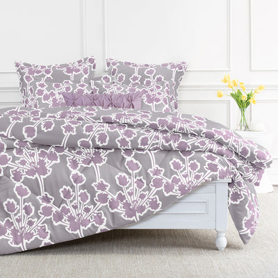 Bedroom inspiration and bedding decor | Ashbury Lilac Comforter Duvet Cover | Crane and Canopy