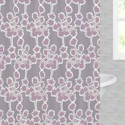 Ashbury Lilac Shower Curtain