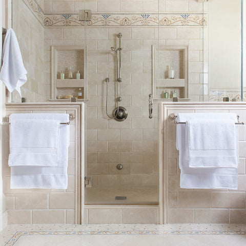 Bedroom inspiration and bedding decor | The Classic Bath Towels | Crane and Canopy