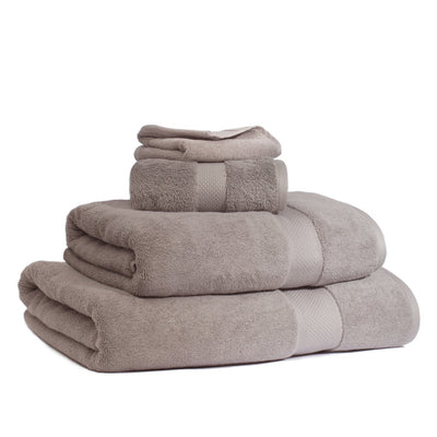 Bedroom inspiration and bedding decor | The Classic Taupe Towels Duvet Cover | Crane and Canopy