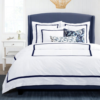 Bella Midnight Framed Percale Sham