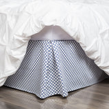 Blue Cloud Bed Skirt