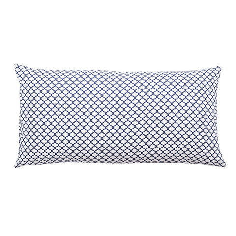 The Navy Blue Cloud Throw Pillow