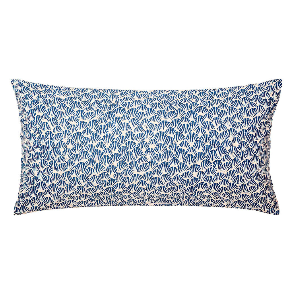 Bedroom inspiration and bedding decor | The Blue Fans Throw Pillows | Crane and Canopy
