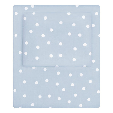 The French Blue Polka Dots Sheet Set