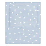 French Blue Polka Dots Sheet Set 2 (Fitted & Pillow Cases)