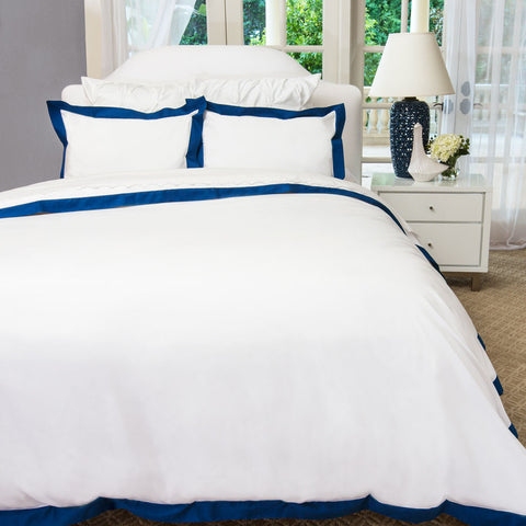Cotton Sateen Duvet Cover White