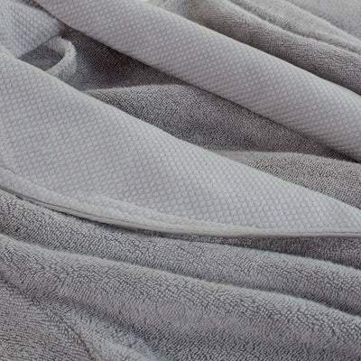 Bedroom inspiration and bedding decor | The Grey Plush Cotton Bathrobe Duvet Cover | Crane and Canopy