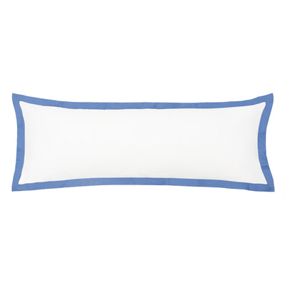 The Linden Capri Blue Extra Long Lumbar Throw Pillow