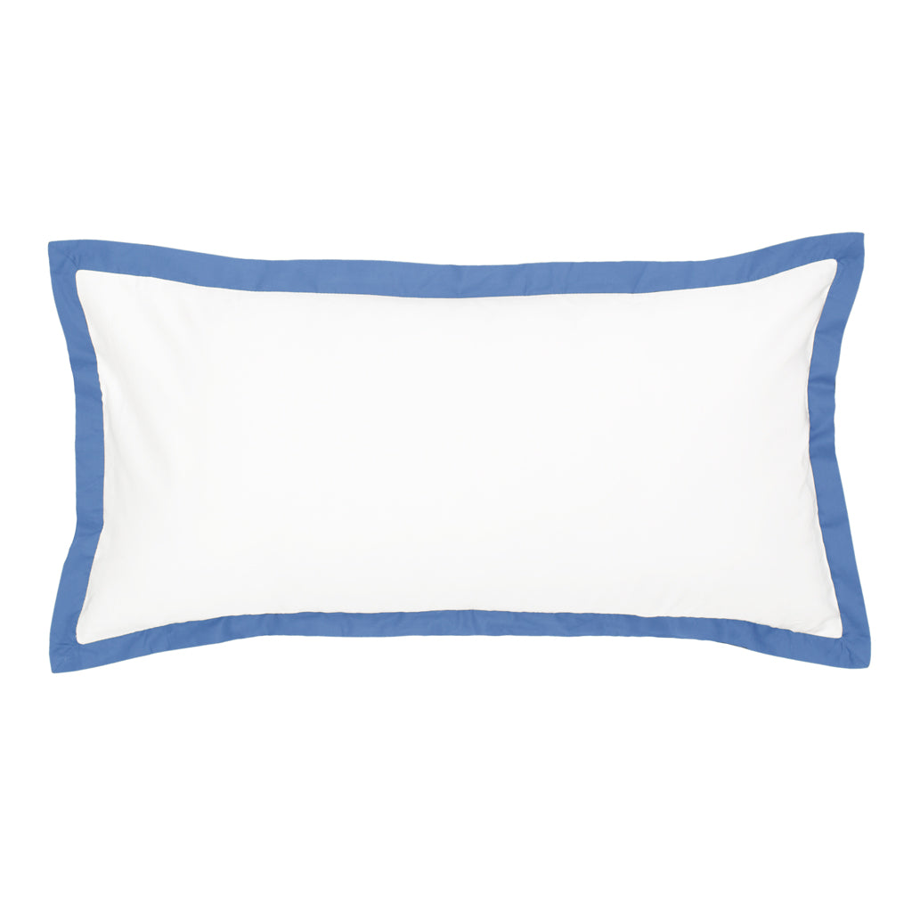 Bedroom inspiration and bedding decor | The Linden Capri Blue Throw Pillow Duvet Cover | Crane and Canopy