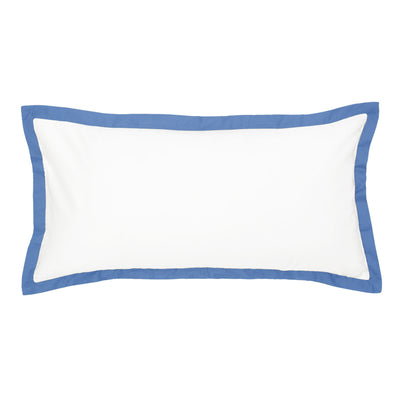 The Linden Capri Blue Throw Pillow