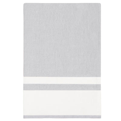 Chambray Stripe Grey Tea Towel