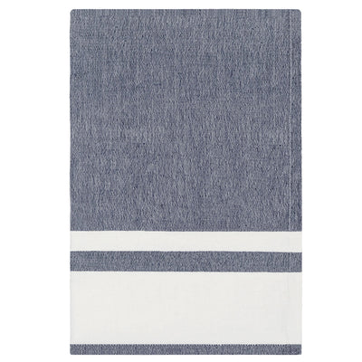 Chambray Stripe Indigo Tea Towel