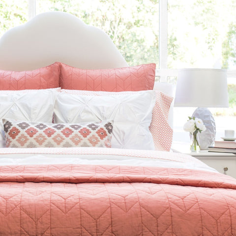 Bedroom inspiration and bedding decor | The Chevron Quilt & Sham | Crane and Canopy