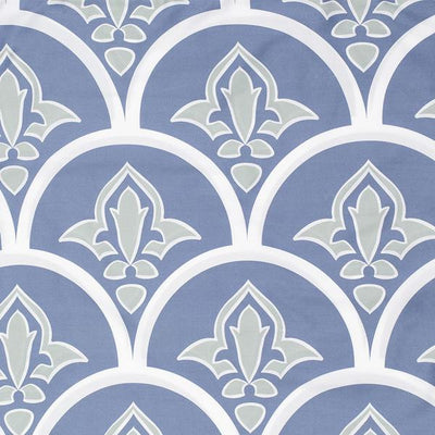 Blue Clementina Fabric Swatch