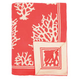 Coral Reef Reversible Patterned Throw