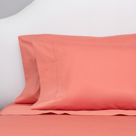 Bedroom inspiration and bedding decor | The Coral 400 Thread Count Sheetss | Crane and Canopy