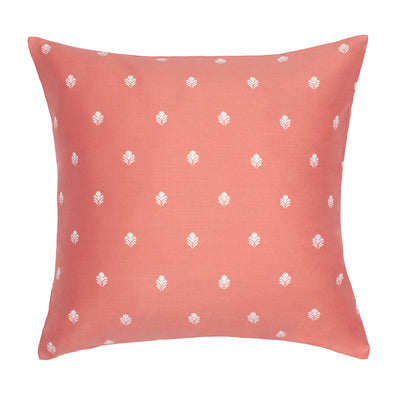 Bedroom inspiration and bedding decor | Coral Flora Throw Pillow Duvet Cover | Crane and Canopy