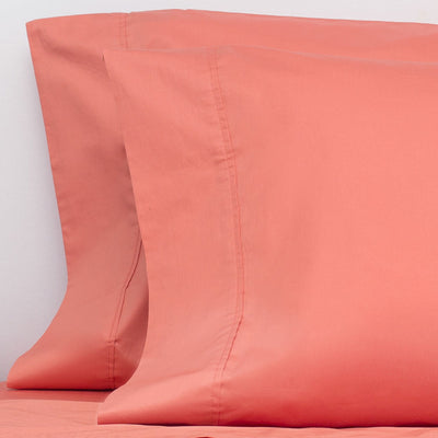 Coral 400 Thread Count Pillow Case