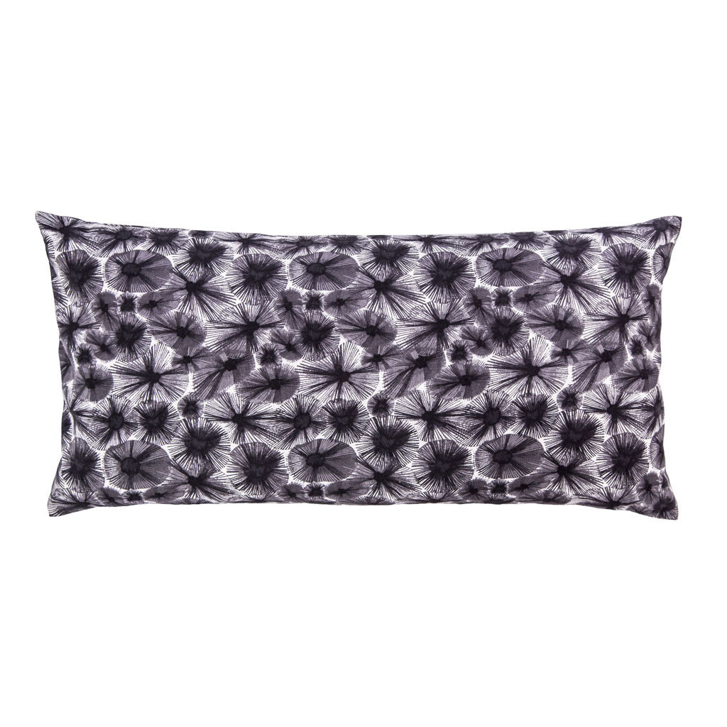 Bedroom inspiration and bedding decor | Dark Purple Starburst Throw Pillow Duvet Cover | Crane and Canopy
