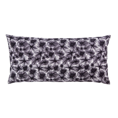 Dark Purple Starburst Throw Pillow