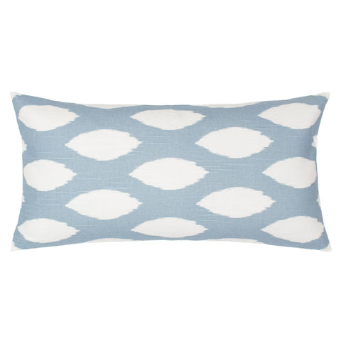Bedroom inspiration and bedding decor | The Dusk Blue and White Raindrop Pillow | Crane and Canopy
