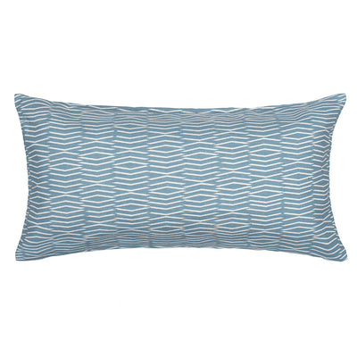 Dusk Wavelet Throw Pillow