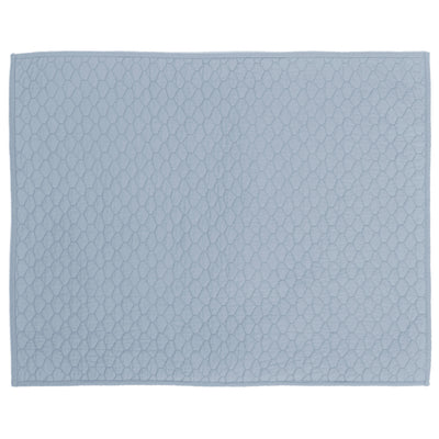 French Blue Cloud Quilt Sham
