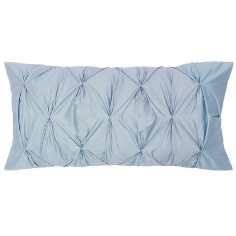 The French Blue Pintuck Throw Pillow